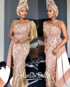 Mermaid Stunning Sexy 2019 African Evening Dresses Sheer Neck Beaded Satin Prom … By Diyanu - African Plus Size Clothing at D'IYANU African Evening Dresses, Casual Evening Dresses, African Lace Dresses, Long Sleeve Evening Dresses, African Fashion Dresses, Prom Dresses, Ankara Fashion, 2015 Dresses, African Clothes