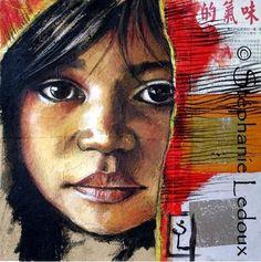 Stephanie Ledoux Art | Le Carla-Bayle. Portraits d'Asie à la galerie du Philosophe