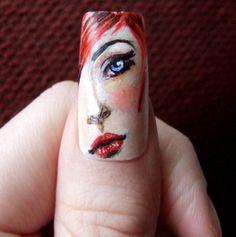 creative and crazy nail art designs Crazy Nail Art, Crazy Nails, Funky Nails, Cool Nail Art, Crazy Nail Designs, Creative Nail Designs, Creative Nails, Nail Art Designs, Fabulous Nails