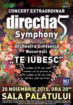 Vineri, 20 Noiembrie 2015, ora 20:00, Sala Palatului, Bucuresti