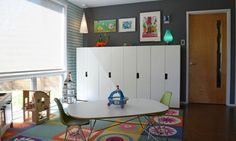 Stuva units from ikea for playroom