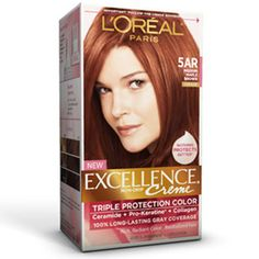 permanent hair dye that revitalizes protects hair while adding rich radiant color for gray coverage - Belle Color Acajou