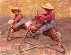 """Susan Lyon   """"Young  riders"""""""