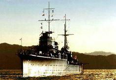 destroyer Yūnagi after the battle of savo island (august 9 1942)