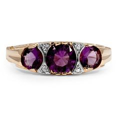 Edwardian amethyst ring