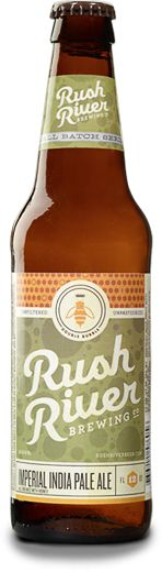 Rush River Brewing Co. Beer Bottle