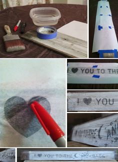 Tutorial on how to make your own DIY wooden sign using printer. http://upcycledtreasures.com/2013/05/diy-wood-sign-using-your-printer/