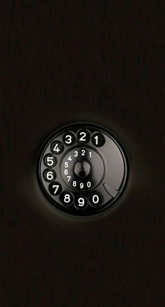 Iphone black dialpad