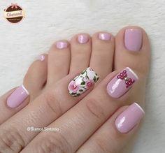 Pretty Toes, Pretty Nails, Fun Nails, Beauty Skin, Beauty Makeup, Manicure Y Pedicure, Finger Painting, Beautiful Nail Art, Cool Nail Art