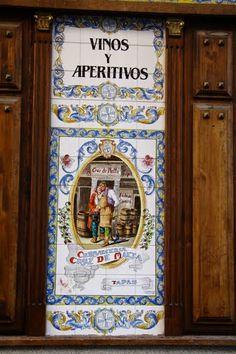 Mural de azulejos - Madrid