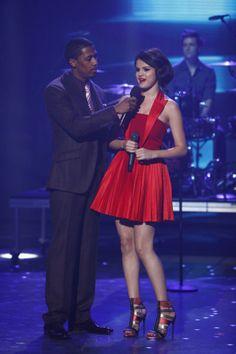 Selena Gomez on Americas Got Talent