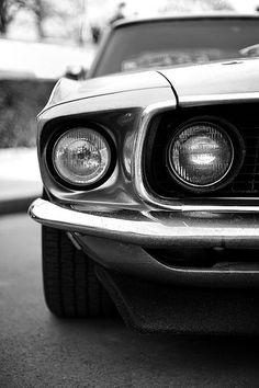 69 Mustang.