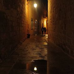 Getting lost in the narrow alleys of the romantic lamp-lit ancient walled city of Mdina (pronounced umm-dina) is half the fun. The city is also known as the silent city as it's so peaceful here. If you go in the evening once the tourists have gone home, a