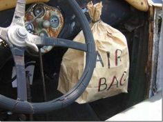 air bag safety first ! Car Memes, Car Humor, Funny Memes, Hilarious, Bike Humor, Redneck Humor, Rednecks, Safety First, College Humor