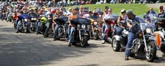 Donate Life Organ and Tissue Donation Blog℠: Nearly 300 bikers rev engines in memory of organ donor 'Big Mike'