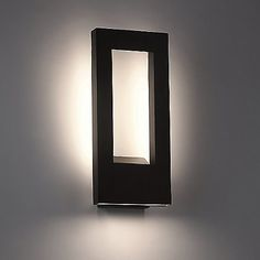 Twilight Indoor/Outdoor LED Wall Sconce