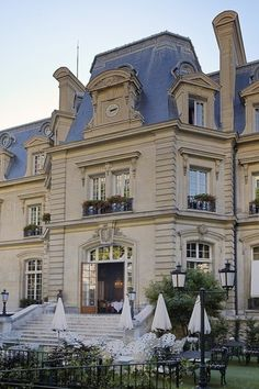 St James, Paris. A very nice and cosy hotel. I would certainly recommend this hotel!