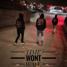 Time Won't Wait Hoodie - The Wise Brand
