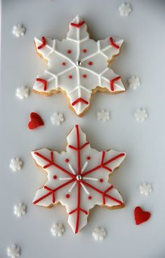Xocolat and co: Decorated cookies - Christmas / Navidad