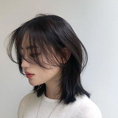 thin hairstyles 2018 hairstyles short hairstyles over 50 thin hairstyles hairstyles 2016 thin hairstyles thin hairstyles bob thin hairstyles Medium Thin Hair, Short Thin Hair, Short Hair With Bangs, Short Hair Styles Easy, Girl Short Hair, Medium Hair Styles, Curly Hair Styles, Korean Short Hair, Side Bangs Hairstyles
