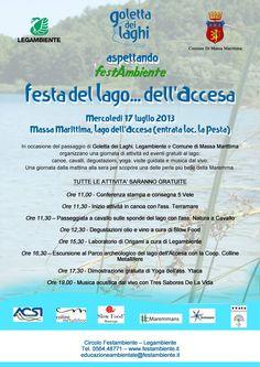 17 luglio 2013  Festa del Lago dell'Accesa, Massa Marittima Maremma Tuscany