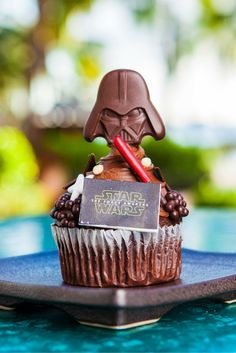 May The Fourth be with you! Join the Dark Side with this wickedly delicious cupcake, available at Ulu Café!