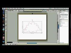 silhouette studio- remplir une page - YouTube
