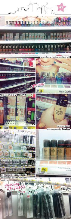 Produtinhos de beleza na Target!