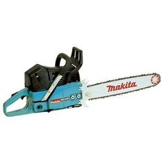 You will be able to handle almost any tree felling, cutting up job with this beast of a chains saw by Makita. The model is a two stroke powered machine with a engine and a huge bar. Makita Power Tools, Cordless Power Tools, Chainsaw Repair, Petrol Chainsaw, Garden Power Tools, Tree Felling, Tool Store, Tools Uk, Impact Driver