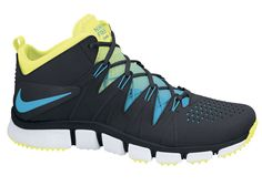 Nike Free Trainer NRG Black/Current Blue-Volt - Nike Free Trainer has seen a number of alluring iterations s. Free Running Shoes, Nike Free Shoes, Nike Shoes, Men's Shoes, Best Sneakers, Sneakers Nike, Nike Free Run 2, Nike Free Trainer, Nike Lunarglide