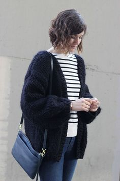 Oversized chunky knit cardigan                                                                                                                                                                                 More