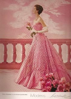 Modess Advertisement - Cecil Beaton 1960