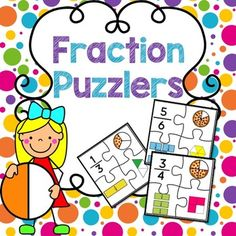 This fraction game is a quick, easy, and fun math center game for your kiddos learning to visualize and identify fractions!This fraction game is easy to set up and fun for kids. Simply laminate and cut the pieces out. This game is easy to have as a math center all year long.