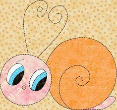 Applique Quilt Patterns | Applique Childrens Quilt Bug Pattern/ Design in Pdf | LinleysDesigns ...
