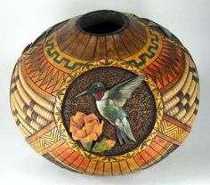 gourd art | Award Winning Gourds Judy Richie