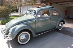 1957 VW Beetle Sunroof Sedan