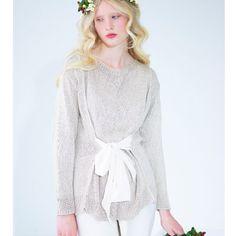 Knit a tie front tunic: : free knitting pattern :: UK knitting patterns