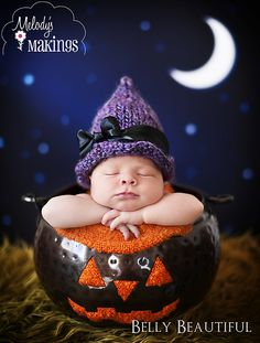 Witch Hat~ #knitting pattern by Melody's Makings. #handmade