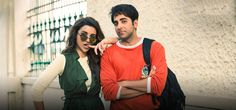 Meri Pyaari <font color='red'>Bindu</font> motion picture survey: Ayushmann, Parineeti in a romantic tale that needs energy! Bollywood Songs, Film Review, Red Color, Falling In Love, Romantic, Entertaining, Actors, Humor, Image