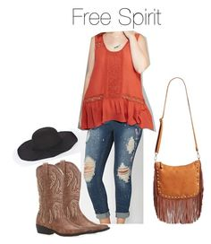 Free Spirit by smilesmakesunshine on Polyvore featuring polyvore, fashion, style, Wet Seal, Street Level and Boohoo