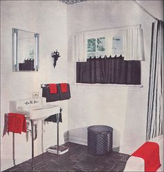 1000 Images About Mid Century Bathrooms On Pinterest