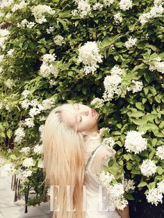 f(x) Krystal - Elle Magazine August Issue '14