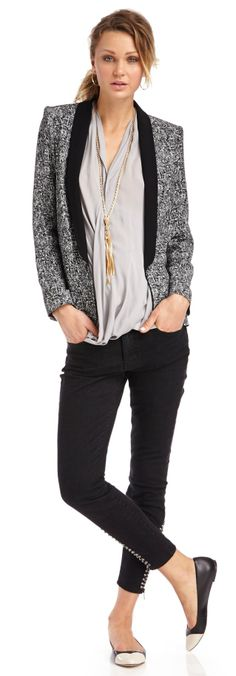 Laid Back Outfit - Cute for an Office!