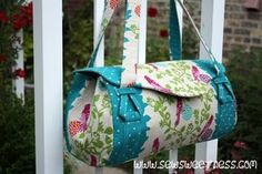 This was the pattern that I was most looking forward to, from Amy Butler's Style Stitches book (and you can get the pattern for free from Sew Mama Sew!). Honestly, it's the most innovative sewing pattern for a bag that I have ever seen. There are many details that I have not seen in any other …