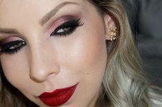 Maquiagem de festa: Olho tudo, boca tudo : Blog Luciane Ferraes