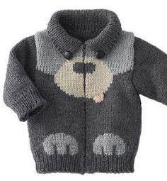 Jungen Pullover Modelle - Knitting For Kids Baby Knitting Patterns, Baby Boy Knitting, Knitting For Kids, Crochet For Kids, Baby Patterns, Crochet Baby, Knit Crochet, Baby Knits, Knit Baby Sweaters