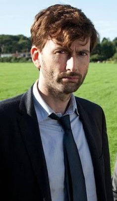 David Tennant as Alec Hardy in Broadchurch