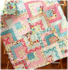Luscious Baby Quilt by CarleneWestberg on Etsy, $130.00