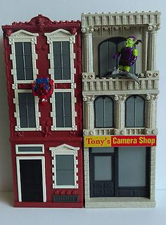 Mega #bloks #marvel city towers  -  spider-man #green goblin camera shop - rare ,  View more on the LINK: http://www.zeppy.io/product/gb/2/152151418224/