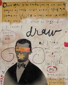 Drawing with your Voice by LYNN WHIPPLE on Etsy.